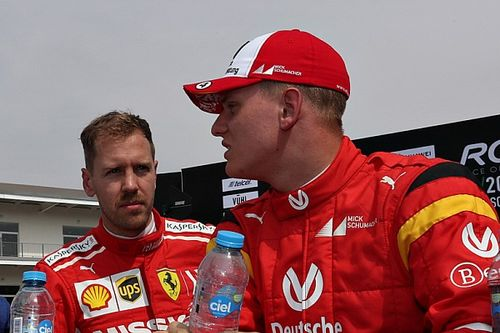 "Vettel: Mick Schumacher has to ""find his own path"" in F1"