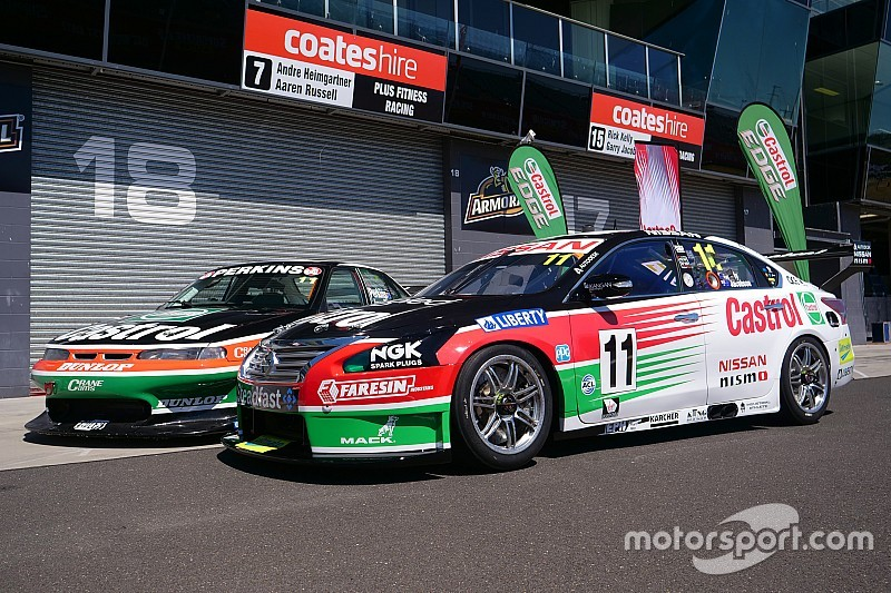 Fans to vote on retro Castrol Bathurst livery