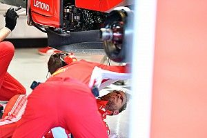 Vettel suffers damage setback in Abu Dhabi test