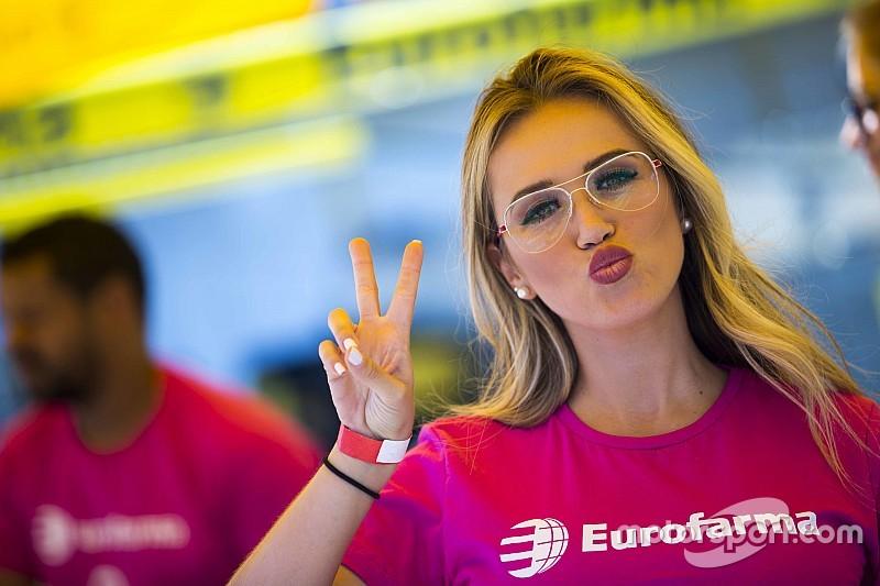 Grid girls colorem bastidores da Stock Car em 2ª visita a Londrina