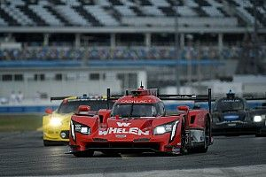 24 uur Daytona: Action Express snelste in opdrogende VT1, Van der Zande begint rustig