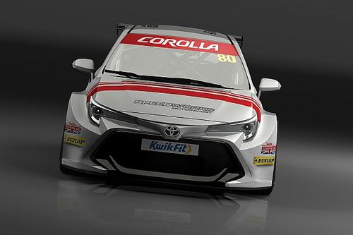 Toyota GB moniker returns to BTCC grid