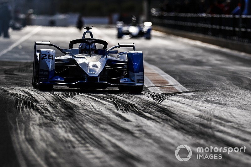 Da Costa tops second Formula E test day for BMW