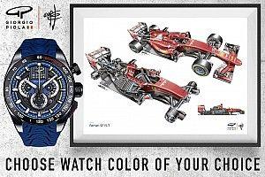 Soutenez le lancement de la collection de montres SHIFT Giorgio Piola
