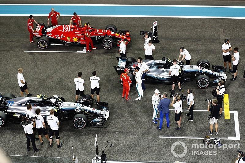 Hamilton: még egyetlen autóval sem álltunk ilyen közel egymáshoz