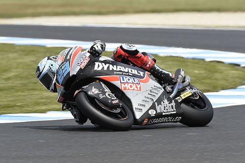 Moto2, Phillip Island, Libere 3: Schrotter davanti a Marquez, solo 18esimo Bagnaia