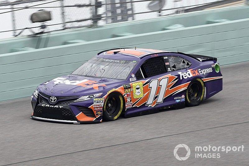 NASCAR-Finale Homestead: Hamlin vor Titelkandidaten auf Pole
