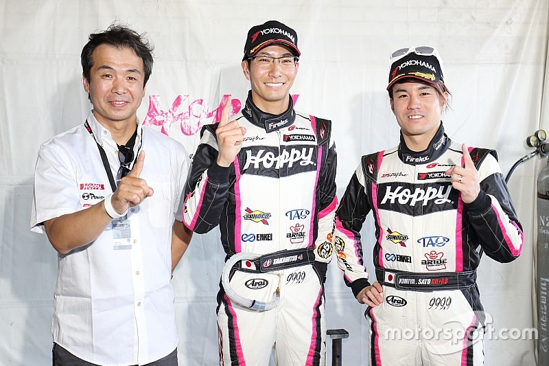 松井孝允、2戦連続ポールポジション獲得もライバル勢の動向を警戒