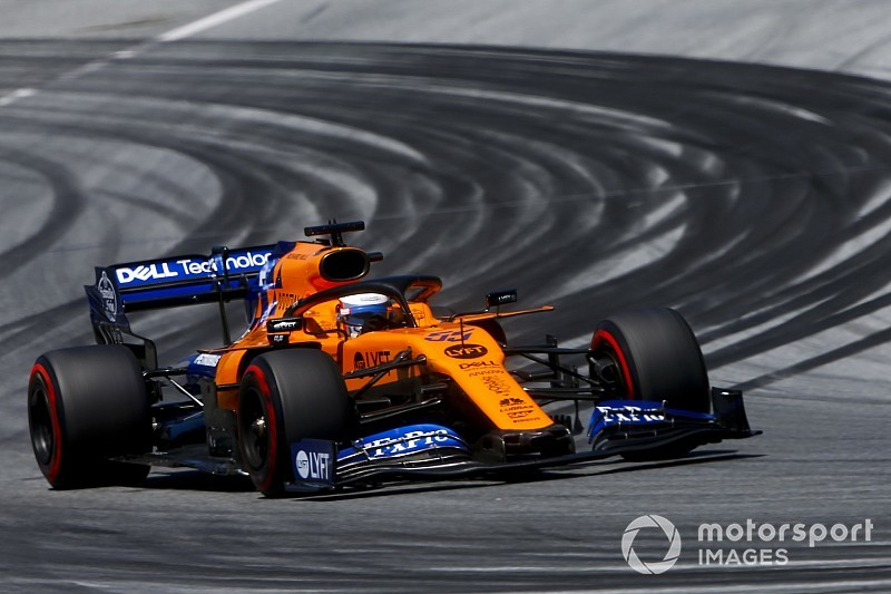 Sainz verwacht sterk weekend in Silverstone met McLaren