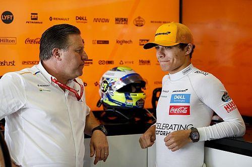 """Amikor a saját F1-es csapafőnököd ellen játszol: """"OH, ZAK A FALBAN!!!!"""""""