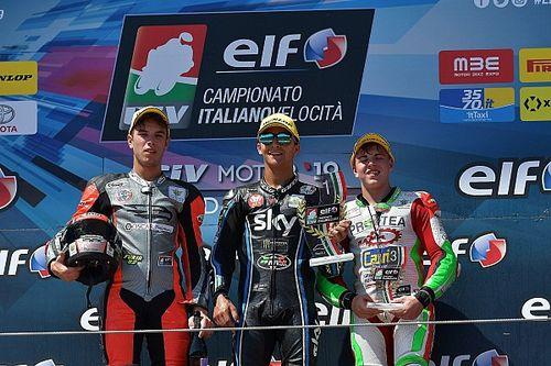 CIV Moto3, Surra vince Gara 1, primo successo per Bartolini la domenica