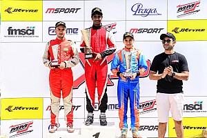 Umashankar extends points lead in JK Tyre X30 Karting