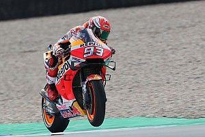 Márquez: Les chutes de Lorenzo montrent que la Honda n'est pas facile