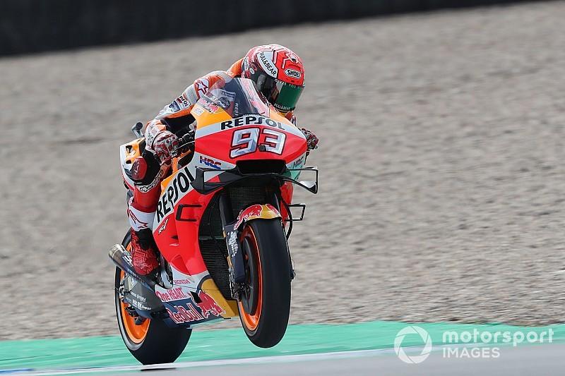 """Márquez: """"La Honda no es una moto fácil pero sí ganadora"""""""