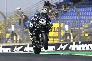 FP3 MotoGP Prancis: Vinales puncaki sesi, Rossi gagal ke Q2