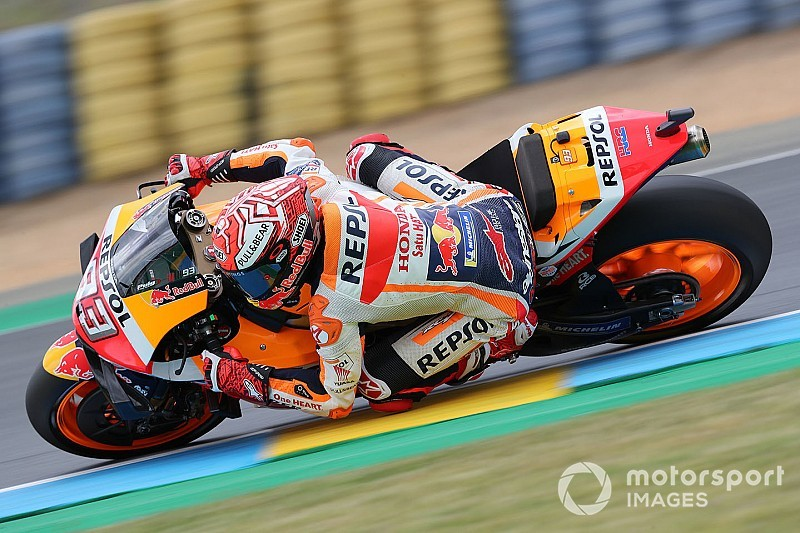 Marquez na pole position