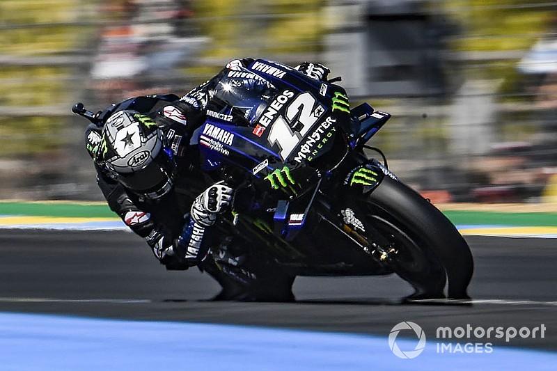 Viñales snelste op vrijdag in Le Mans, Rossi buiten top-tien