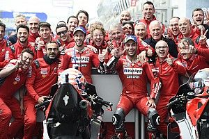 Dovizioso senang Ducati tak terapkan team order