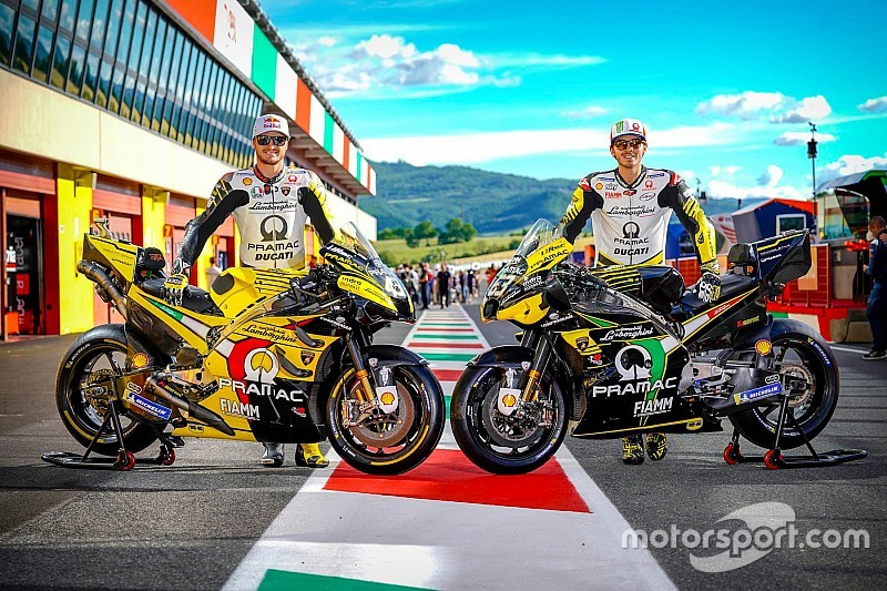 Pramac to run updated Lamborghini liveries at Mugello
