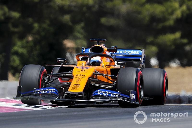 """Sainz heureux 6e : """"Mercedes à 1 seconde ; Ferrari à 0,5"""""""