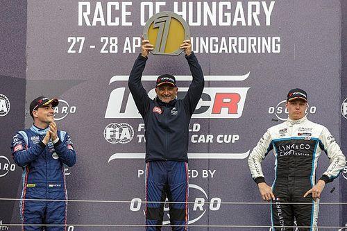 Tarquini manda en el doblete de Hyundai en el Hungaroring