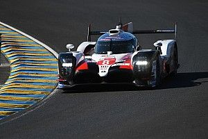 Test Le Mans: Buemi mantiene la Toyota al comando davanti alla gemella #7