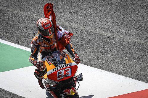 """Márquez satisfait de sa deuxième place sur sa """"pire course"""""""