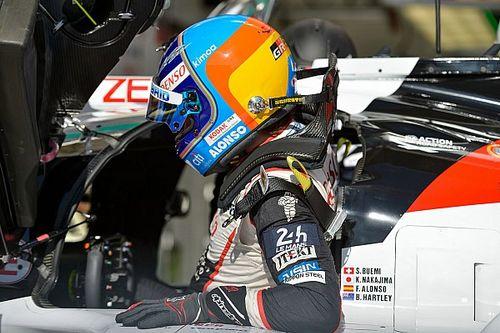 """Alonso, contento tras 29 vueltas a Le Mans """"sin sorpresas"""""""