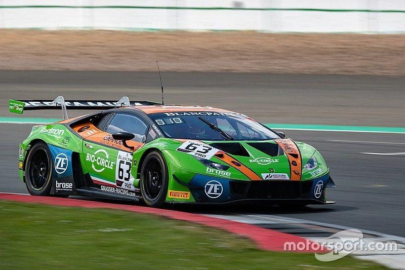 La Lamborghini del Grasser Racing conquista la pole anche a Silverstone
