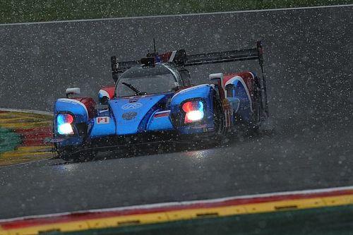 Vandoorne debutó en el podio en Spa... acabando con cuatro marchas