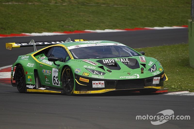 Vallelunga, Gara 1: Postiglione e Mul regalano il successo alla Lamborghini dell'Imperiale Racing