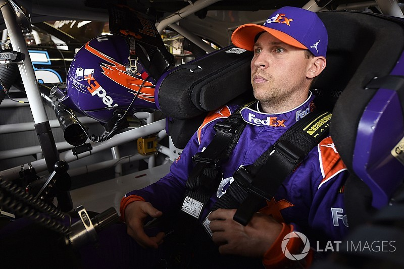 "Hamlin: ""I don't even care about the playoffs"" after Indy loss"