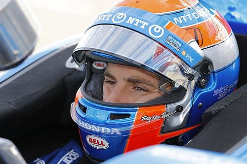 """No worries"" for Jones as he returns to IndyCar"