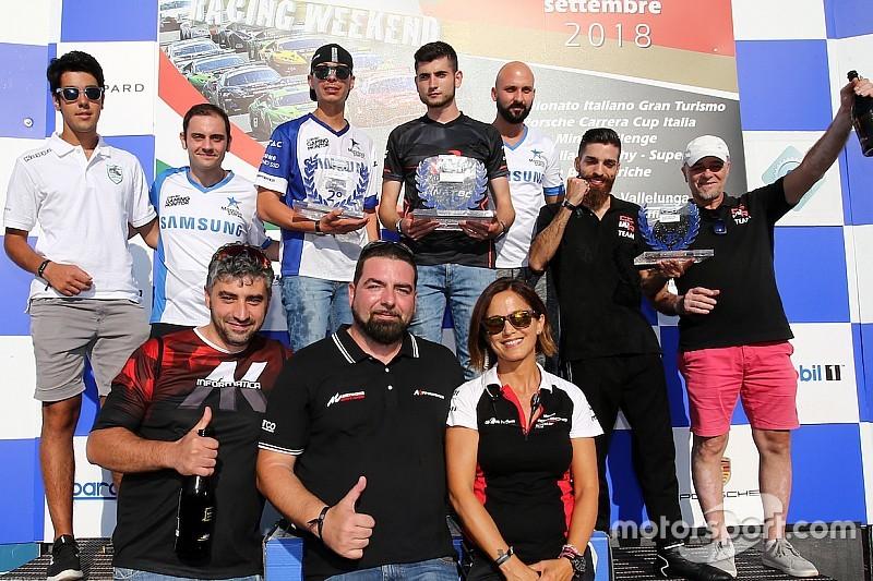 """Bonito è il re della Carrera Cup Italia """"virtuale"""""""