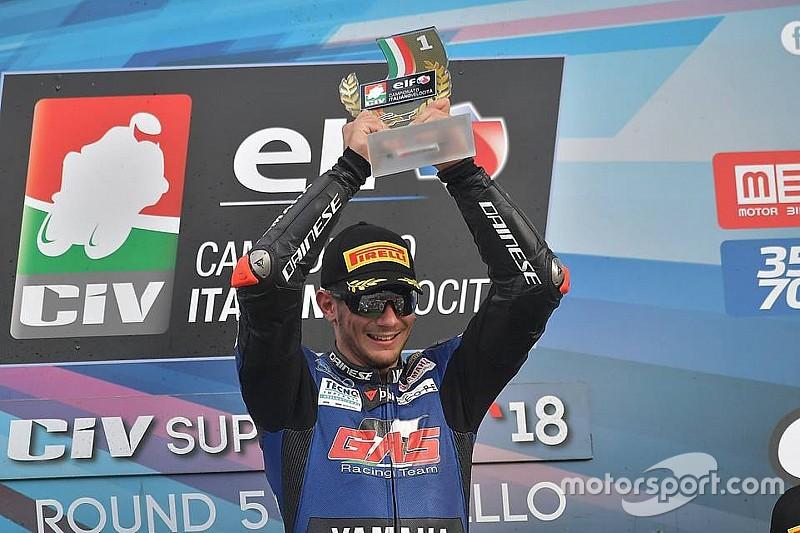 Dopo il tris di Valtulini, in gara 2 al Mugello arriva la prima vittoria di Gabellini