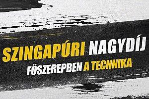 Szingapúri Nagydíj: főszerepben az F1-es technika (videó)