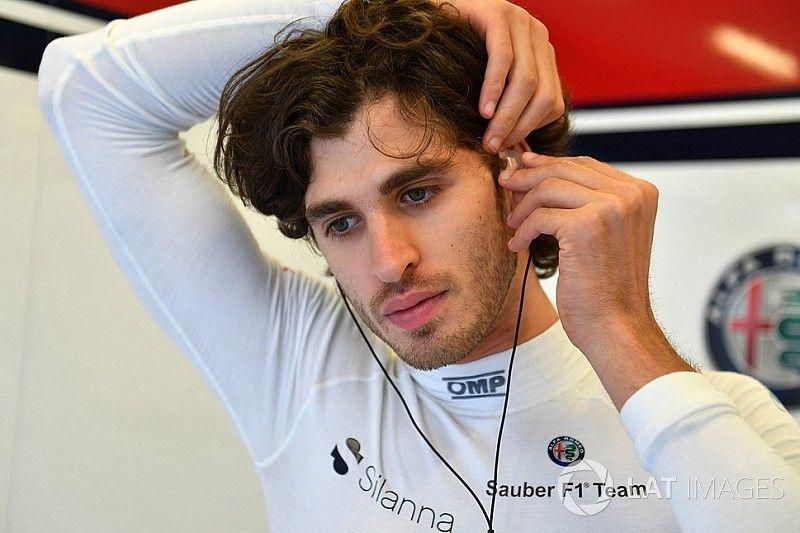 Giovinazzi reconoce que su buen test en Hungría no le asegura un lugar en la F1