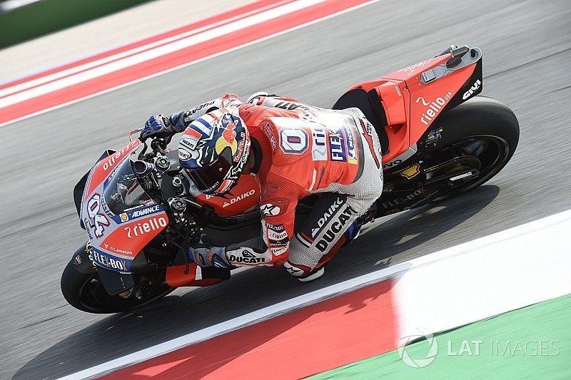 Misano MotoGP: Dovizioso leads Crutchlow in first practice