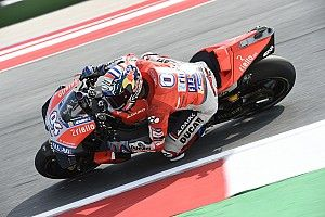 Misano MotoGP: Dovizioso leads Crutchlow in first practice