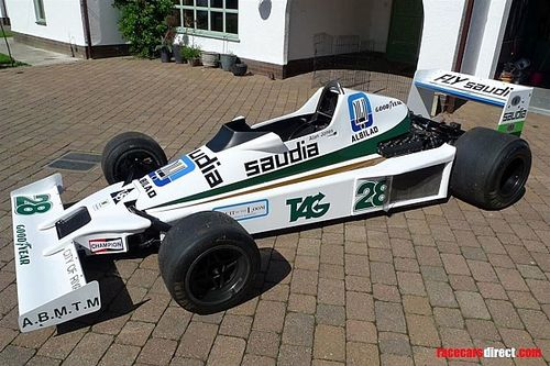 Williams FW06 de Alan Jones está à venda na Internet