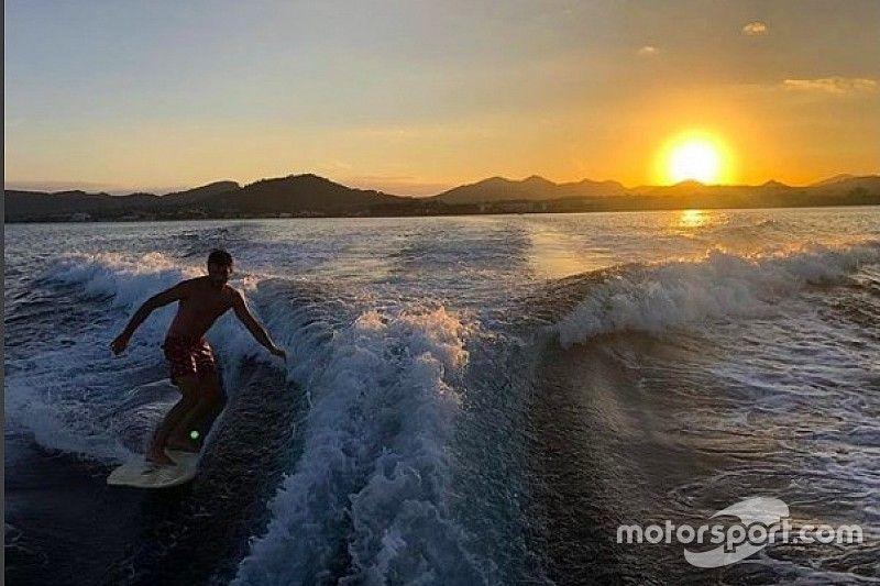Las vacaciones de los pilotos de Fórmula 1