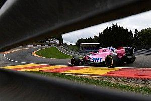Гран При Бельгии: стартовая решетка