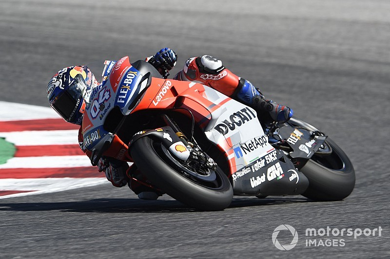 Aragon MotoGP: Dovizioso leads Ducati 1-2-3-4 in FP1