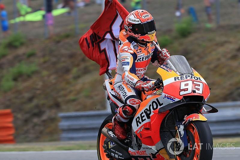 """Marquez nem akart """"őrült manőverrel"""" nyerni a Cseh GP-n"""