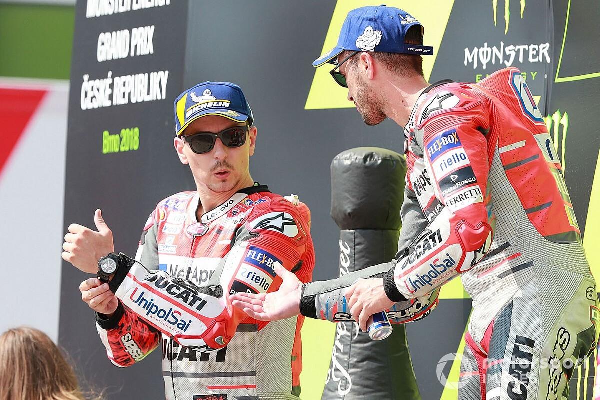 """Lorenzo: """"Dovi fuori dalla MotoGP? Non ha vinto per 13 anni"""""""