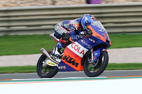 Hasil Warm Up Moto3 Valencia: Sasaki Tercepat, Vietti Perlihatkan Laju Impresif