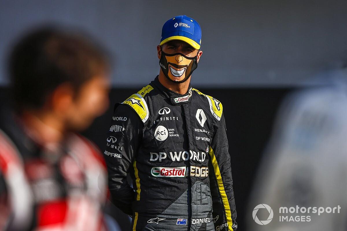 """Ricciardo: a mi llegada a Renault encontré un equipo """"tímido"""