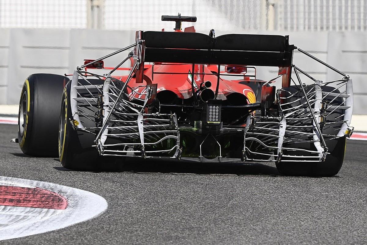 Ferrari'nin arkasındaki devasa sensörler, ne manaya geliyor?