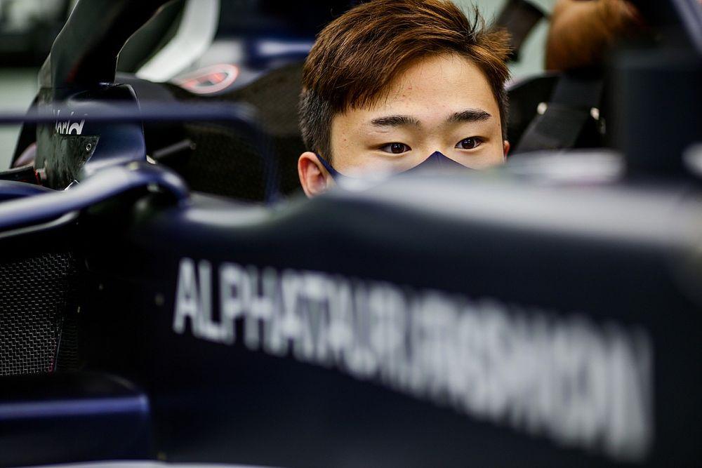 Tsunoda ya colabora con el desarrollo del AlphaTauri
