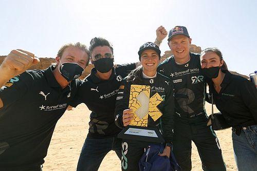 El equipo de Rosberg es el primer ganador en la historia de Extreme E
